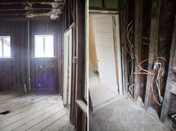 Good Bones // House Before, Renovation Weeks 1 and 2