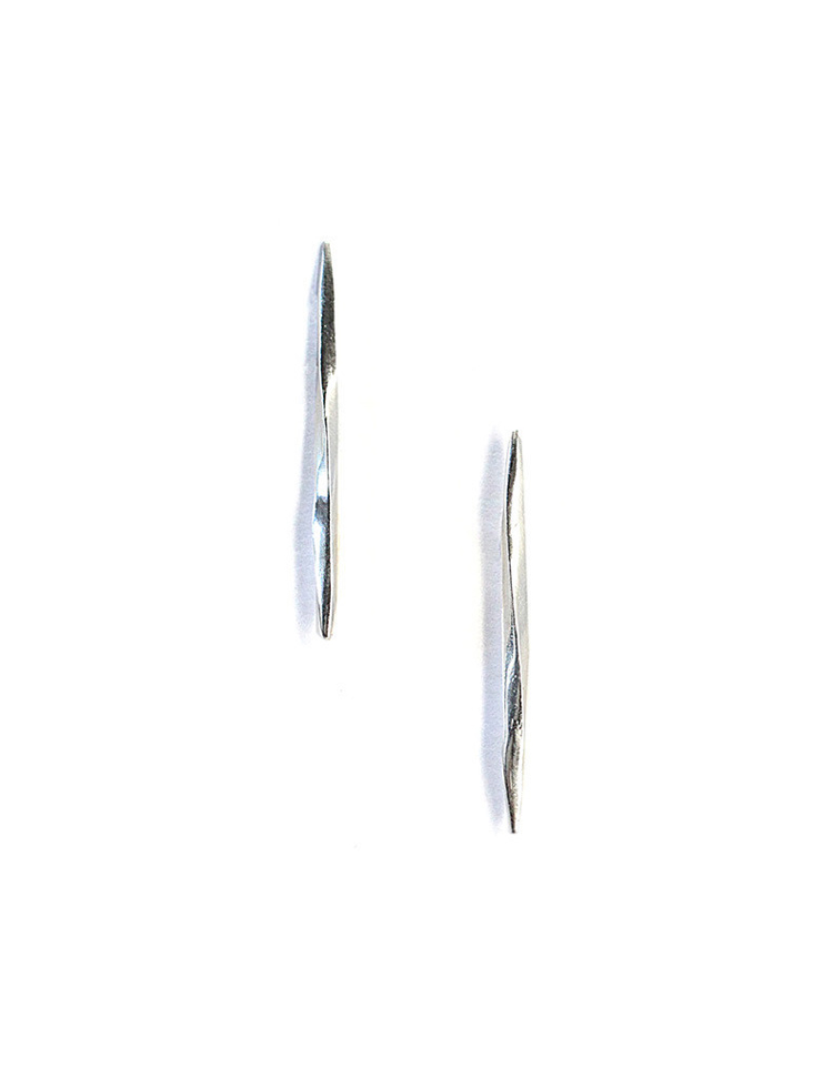K/LLER COLLECTION Long Twist Spike Studs