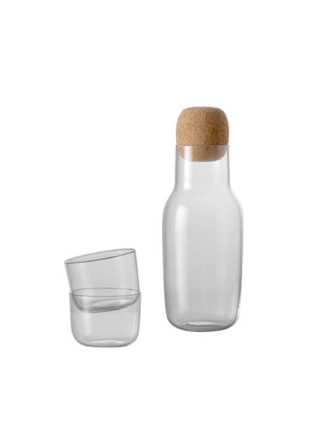 Muuto corky carafe and glasses