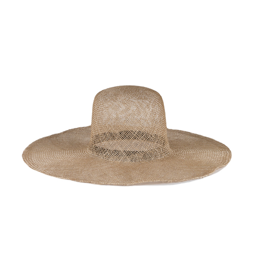 Newell hat in lace weave straw, Brookes Boswell
