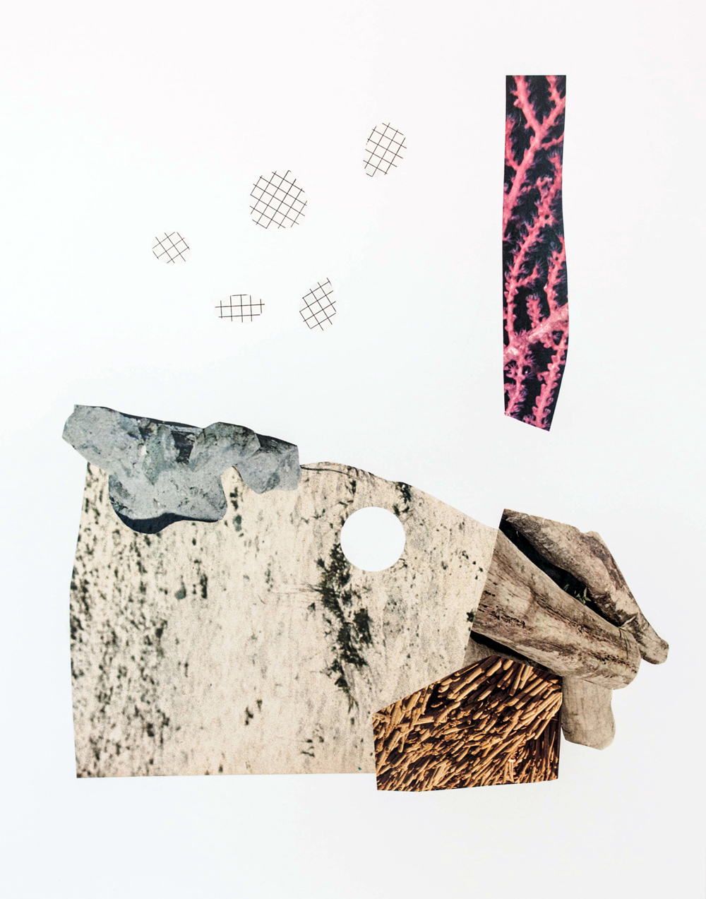 Blanche, collage by Gabi Hutchison, 2016