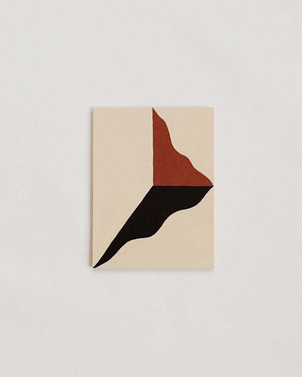 """John Zabawa, """"Red Sundial"""""""